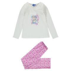 Pijama largo de punto y muletón Disney La Reina de las Nieves