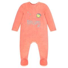 Pijama de terciopelo ©Smiley baby