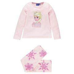 Pijama de micropolar con estampado La Reina de las nieves Disney