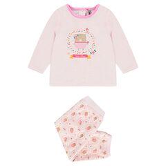 Pijama de terciopelo adaptado en función de la edad