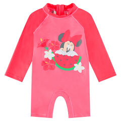 Mono de baño antirrayos UV con estampado Minnie de Disney