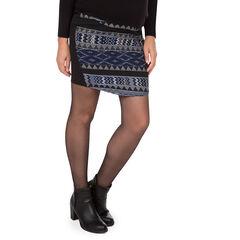 Falda de embarazada de jacquard con estilo étnico