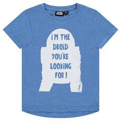 Camiseta de manga corta con estampado de robot de Star Wars™
