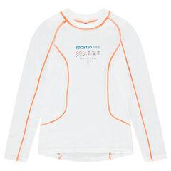 Júnior - Camiseta interior especial para esquiar