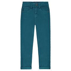 Pantalón de tela con corte slim
