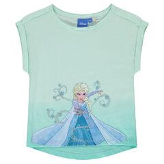 Camiseta de manga corta de Disney con Frozen
