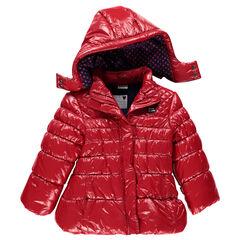 Anorak con capucha desmontable con forro de tela sherpa Minnie Disney