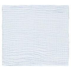 Manta de algodón liso 95 x 95 cm