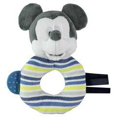 Hochet Mickey en velours Disney