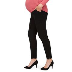 Pantalón de premamá corte slim con banda superior
