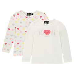 Conjunto de 2 camisetas interiores ©Smiley