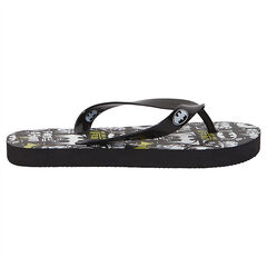 Chanclas con logo de Batman estampado all over
