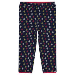 Legging de punto con estampado all-over