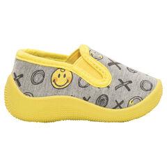 Zapatillas planas con estampado ©Smiley all-over.