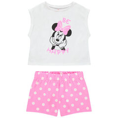 Pyjama court print Minnie Disney et short à pois , Orchestra