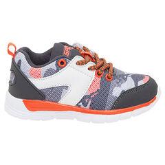 Zapatillas deportivas con cordones estampado militar de la 24 a la 27