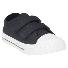 Zapatillas bajas de tela con velcro del 20 al 23