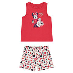 Pijama largo de punto con estampado de ©Disney Minnie
