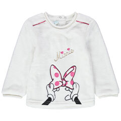 Sudadera de borreguillo Minnie Disney bordada
