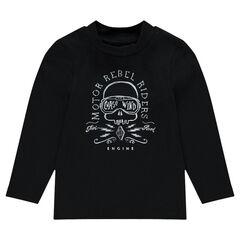Camiseta interior con estampado de fantasía