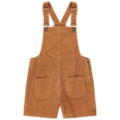 Júnior - Peto de terciopelo acanalado con bolsillos tipo parche