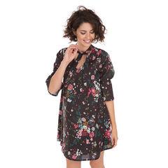 Vestido de premamá con estampado de flores all-over