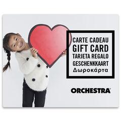 La tarjeta de regalo electrónica Orchestra fille
