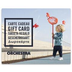 La tarjeta de regalo electrónica Orchestra bebeGarcon