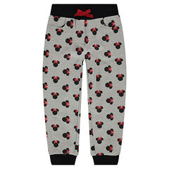 Pantalón de chándal de felpa con dibujode Minnie ©Disney all over