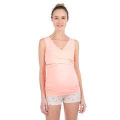 Camiseta de premamá y de lactancia homewear