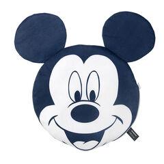 Cojín Disney Mickey con manta de borreguito con motivo