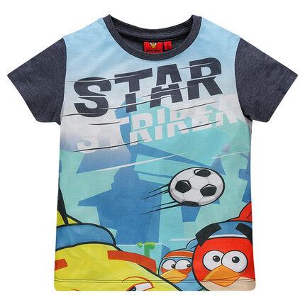 Camiseta manga corta con estampado Angry Bird