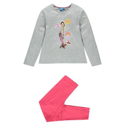 Pijama de tejido de punto con estampado Disney