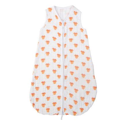 Saco de dormir de algodón con relieve con estampado de Disney Minnie