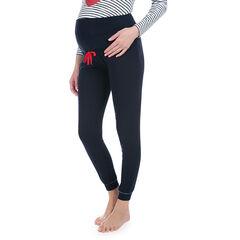 Pantalones homewear lisos con banda superior