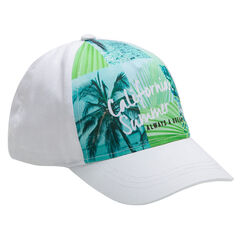 Gorra de sarga con sublimación tropical
