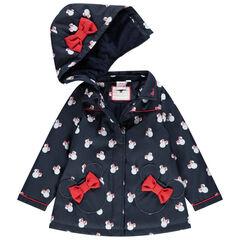 Parka en gomme doublée sherpa imprimée Minnie Disney pour enfant fille , Orchestra