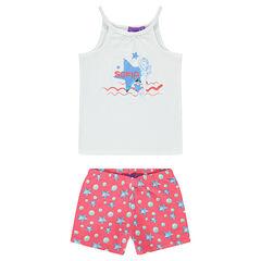 Pijama corto de Disney Princesa Sofia