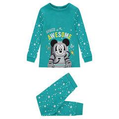 Pijama de punto ©Disney con estampado de estrellas y Mickey