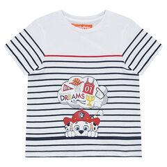 Camiseta de manga corta de rayas con estampado Marcus y Patrulla Canina Nickelodeon™