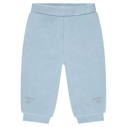 Pantalón de terciopelo con pies