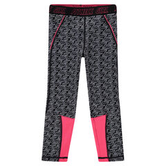Legging stretch con estampado