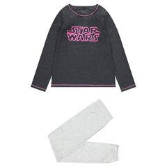 Júnior - Pijama de punto con inscripción de Star Wars™ estampada