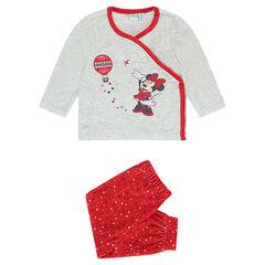 Pijama de terciopelo Disney Minnie adaptado en función de la edad
