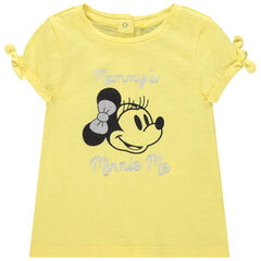 Camiseta manga corta estampado Minnie Disney  , Orchestra
