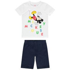 Pijama de punto con estampado Mickey Disney , Orchestra