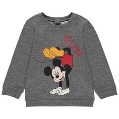Sweat en molleton print Mickey Disney pour bébé garçon , Orchestra