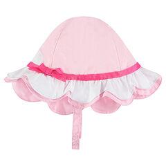 Sombrero de algodón con cisne estampado