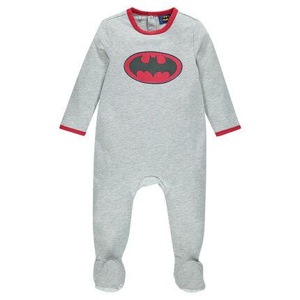 Pijama de felpa con logo BATMAN