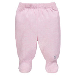 Pantalón con pie elástico
